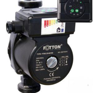 Elektroniczna pompa obiegowa FOTTON FTRS 25-40/180